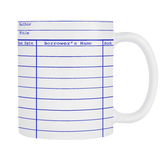 Library Card Multicolor Mug-For Reading Addicts