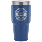 Certified Books Addict Travel Mug - Gifts For Reading Addicts