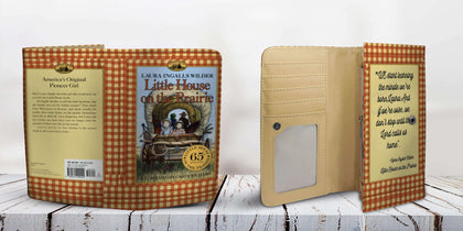 """Little House On The Prairie""Womens Wallet - Gifts For Reading Addicts"