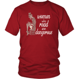 """Women who read"" Unisex T-Shirt"