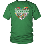 """I am a bookaholic"" Unisex T-Shirt - Gifts For Reading Addicts"