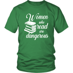 """Women who read"" Unisex T-Shirt - Gifts For Reading Addicts"