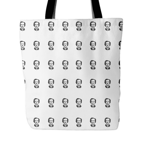 Poe-ka Dot Tote Bag-For Reading Addicts