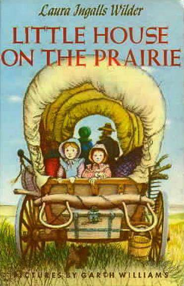 Little House On The Prairie  Book Cover Locket Necklace keyring silver & Bronze tone book jewelry B1037