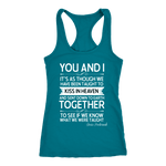 """You and i"" Women's Tank Top - Gifts For Reading Addicts"