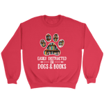 """Dogs and books"" Sweatshirt"