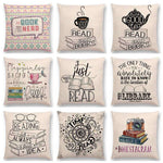 Bookish Quotes Cushion Covers, Color - a022817 - Gifts For Reading Addicts