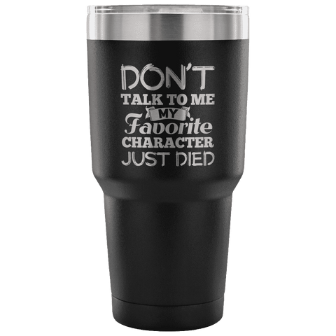 My Favourite Character Just Died Travel Mug