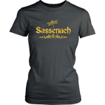 """Sassenach"" Women's Fitted T-shirt"