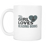 this girl loves reading books mug - Gifts For Reading Addicts