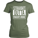 """Fraser's Ridge"" Women's Fitted T-shirt"