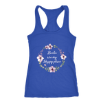 """Happy place"" Women's Tank Top - Gifts For Reading Addicts"