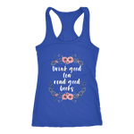 """Read Good Books"" Women's Tank Top - Gifts For Reading Addicts"