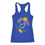 """just read"" Women's Tank Top"