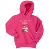 """It's a good day to read"" YOUTH HOODIE - Gifts For Reading Addicts"