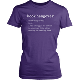 """Book hangover"" Women's Fitted T-shirt"