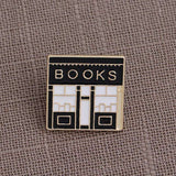 Enamel Pins Books and Bookshops