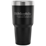 BIBLIOPHILE Travel Mug