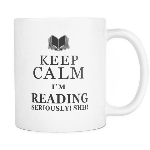 keep calm i'm reading mug-For Reading Addicts