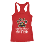 """Dogs and books"" Women's Tank Top"