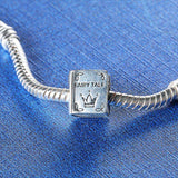 Fairytale Pandora Compatible Charm 100% 925 silver-For Reading Addicts