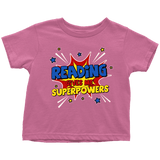 """Reading gives me""TODDLER TSHIRT - Gifts For Reading Addicts"