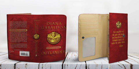 """Outlander""Book Cover Womens Wallet"