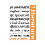 Choose your Future, Choose Books - Gifts For Reading Addicts