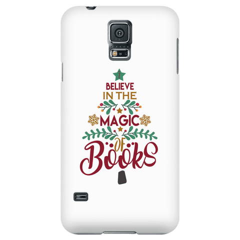"""The magic of books"" Phone case - Gifts For Reading Addicts"