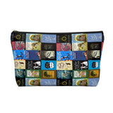 Books pattern Accessory Pouch for book lovers - Gifts For Reading Addicts