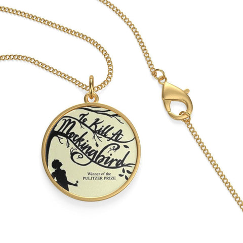 """To Kill A Mockingbird"" Single Loop Necklace - Gifts For Reading Addicts"