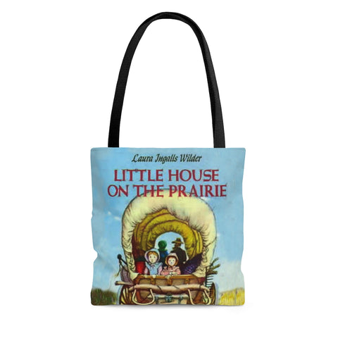 Little House On The Prairie Book Cover Tote Bag - Gifts For Reading Addicts