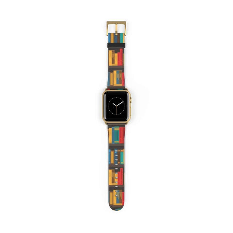 Colorful Pattern Design Band for Apple Watch - Gifts For Reading Addicts