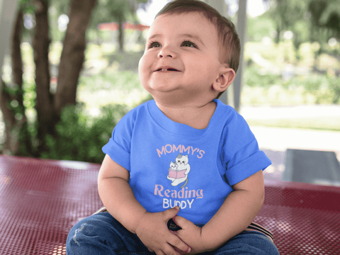 """Mommy's Reading Buddy""Toddler T-Shirt"