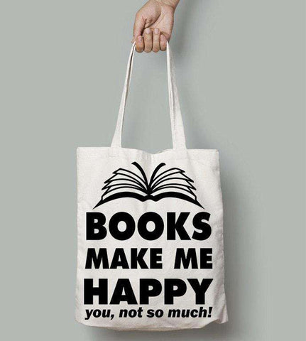 Books Make Me Happy-For Reading Addicts
