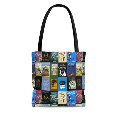 Book Covers Tote Bag - Gifts For Reading Addicts