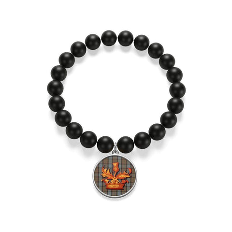 Outlander Matte Onyx Bracelet - Gifts For Reading Addicts