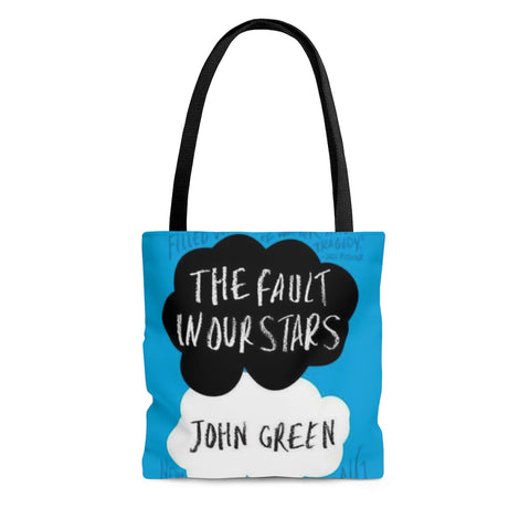 The Fault In Our Stars Book Cover Tote Bag - Gifts For Reading Addicts