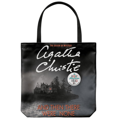 """And Then There Were None""Book Cover Tote"