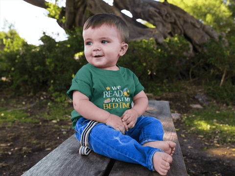 """We Read Past My Bedtime""Infant T-Shirt"