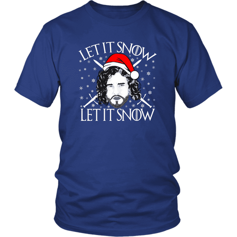 """Let It Snow"" Unisex T-Shirt"