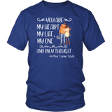 """My heart my life"" Unisex T-Shirt - Gifts For Reading Addicts"