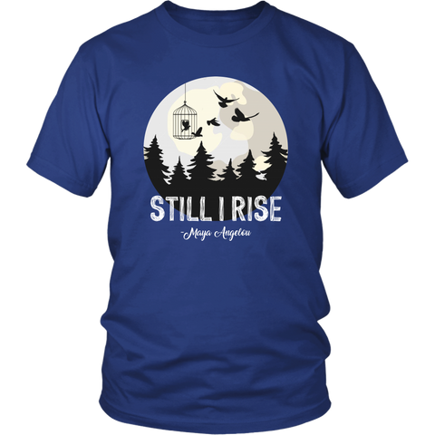 """Still I Rise"" Unisex T-Shirt - Gifts For Reading Addicts"