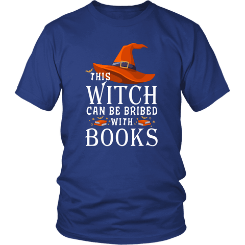 """Bribed With Books"" Unisex T-Shirt"