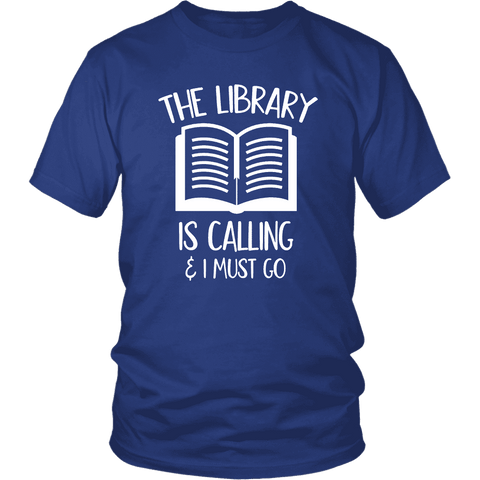 """The library"" Unisex T-Shirt"