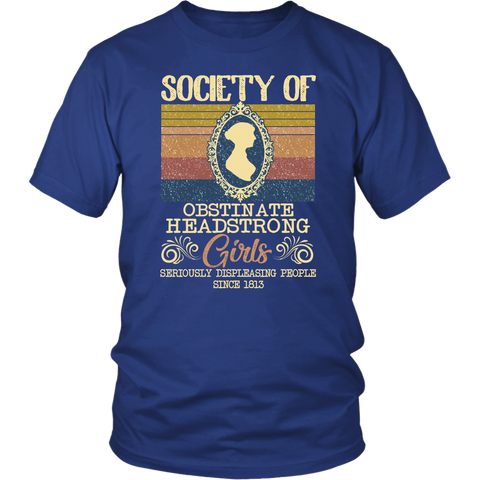 """Obstinate Headstrong Girls"" Unisex T-Shirt - Gifts For Reading Addicts"
