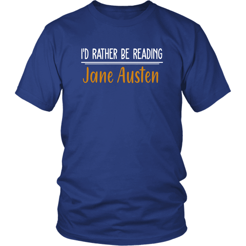 """I'd Rather Be reading JA"" Unisex T-Shirt"