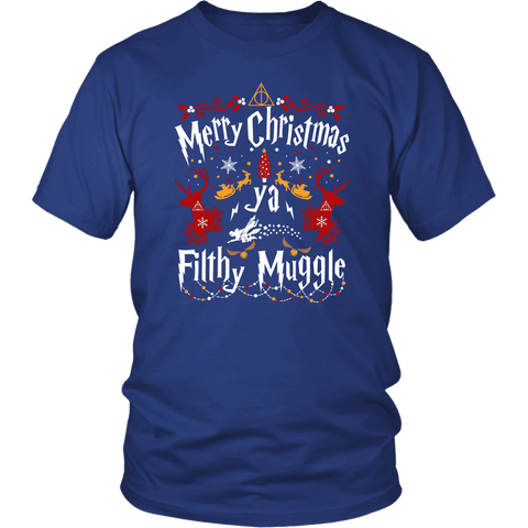 """Ya Filthy Muggle"" Unisex T-Shirt - Gifts For Reading Addicts"