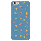 Colorful Bookish Pattern Phone Case blue - Gifts For Reading Addicts