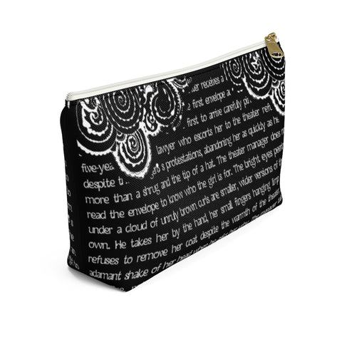 The Night Circus Book Page Accessory Pouch for book lovers - Gifts For Reading Addicts